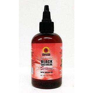 Tropic Isle Living Black Castor Oil 4-ounce Serum with Argan Oil