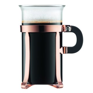 Bodum 4912-18 Chambord Classic 2 Piece 10 ounce Copper Coffee Glass