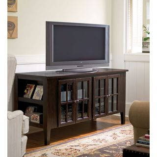 Paula Deen Home Entertainment Console in Tobacco Finish