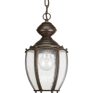 Progress Lighting P5565-20 Roman Coach 1-light Lantern. Chain and Ceiling Mounts Included.