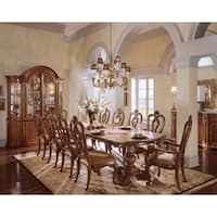 Villa Cortina Double Pedestal Dining Table