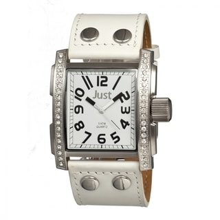 Just Men's JUS48-S8854WH Prince White Watch