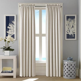 Nautica Cotton Twill Hester Curtain Panel Set available in 2 colorways