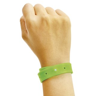 Set of Four Citronella Scented Bracelets ((Assorted Colors))