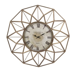 "Banyan Wall Clock (33""d x 3.5"")"