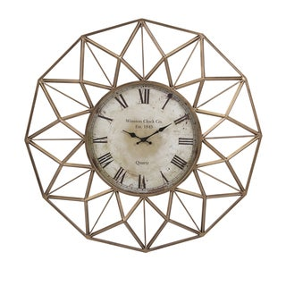 "Banyan Wall Clock (33""d x 3.5"")"