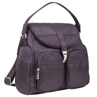 Travelon Signature Anti-theft Convertible Backpac/Crossbody Bag
