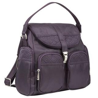 Travelon Signature Anti-theft Convertible Backpac/Crossbody Bag