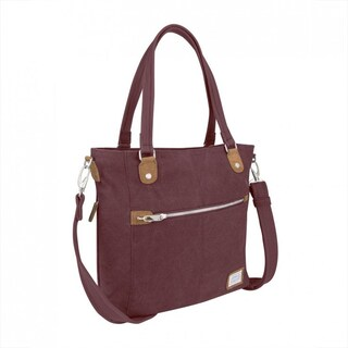 Travelon Anti-theft Heritage Tote Bag (Option: Red)