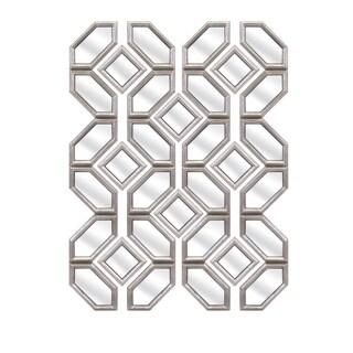 """Prestin Wall Mirrors - Set of 12 (7-42""""h x 7""""w x 1"""")"""