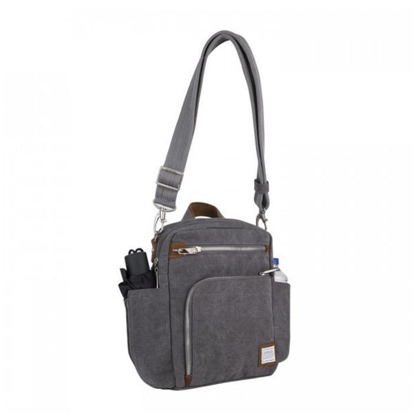 Travelon Heritage Anti Theft Tour Vertical Crossbody Messenger Bag