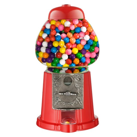 Great Northern Red 15 inch Vintage Gumball Machine Bank