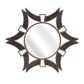 "Saburo Wall Mirror (36.5""h x 36.5""w x 2.5"")"