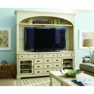 Paula Deen Home River House Entertainment Console with Hutch