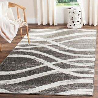 Safavieh Adirondack Modern Charcoal/ Ivory Rug (5'1 x 7'6)