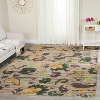 Safavieh Handmade Cedar Brook Green/ Multi Jute Rug (8' x 10')