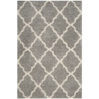 Safavieh Dallas Grey Ivory Trellis Rug 8 X 10