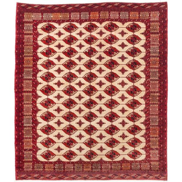 Shop Ecarpetgallery Hand-Knotted Persian Turkoman Beige