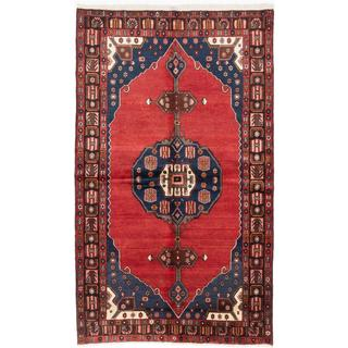 ecarpetgallery Hand-Knotted Persian Tafresh Red Wool Rug (5'7 x 9'2)