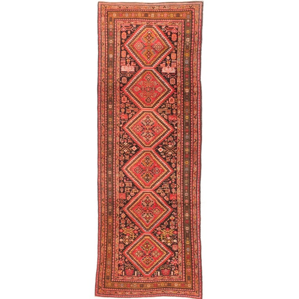 Ecarpetgallery Hand Knotted Persian Meshkin Black Brown