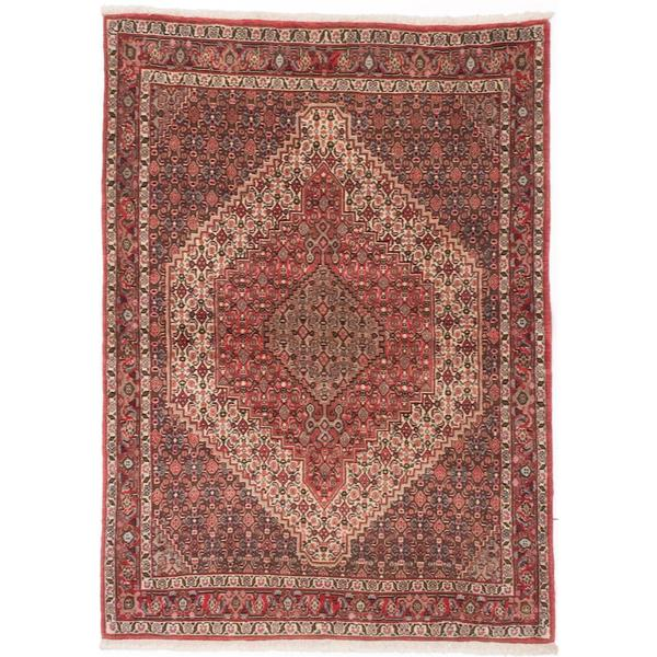 Shop Ecarpetgallery Hand Knotted Persian Kashan Red Wool: Shop Ecarpetgallery Hand-Knotted Persian Senneh Red Wool