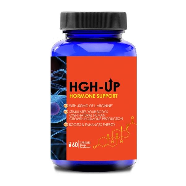 HGH UP Advanced Natural Hormone Helper with L-Arginine ...