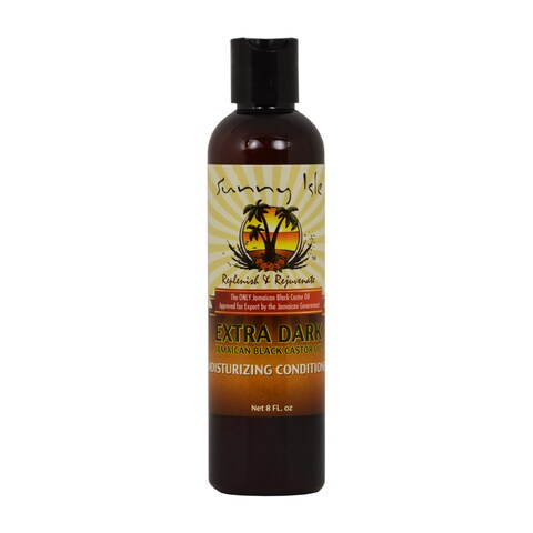 Sunny Isle Jamaican Black Castor Oil Extra Dark Moisturizing 8-ounce Conditioner