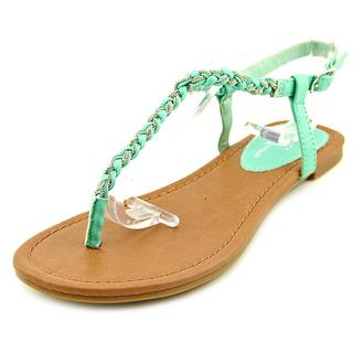 Famous Name Brand Women's 'Seabreeze' Faux Leather Sandals
