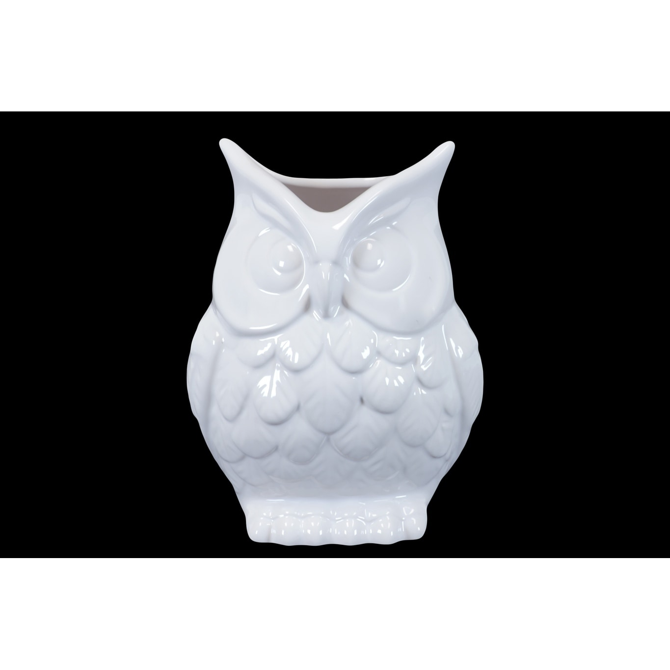 Ceramic white owl vase white 190563704641 ebay ceramic white owl vase white reviewsmspy
