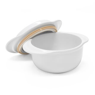 Chantal Make and Take Ceramic Round Casserole with Lid