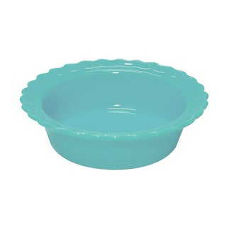 Chantal Classic Ceramic 5 Inch Pie Dish in Aqua