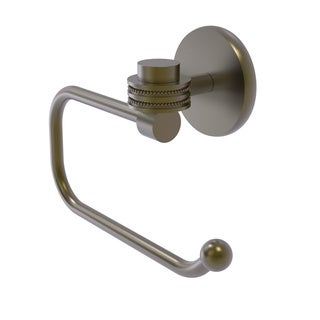 Allied Brass Satellite Orbit One Collection Euro Style Toilet Tissue Holder with Dotted Accents