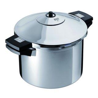 Kuhn Rikon 3044 Stainless Steel Pressure Cooker/ 8-quart .