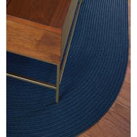 Rhody Rug Madeira Indoor/ Outdoor Oval Rug (3' x 5') - 3' x 5'