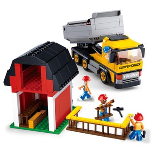 Sluban Interlocking Bricks Dump Truck