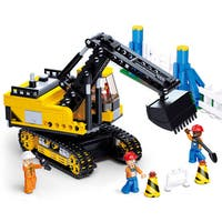 Sluban Interlocking Bricks Excavator