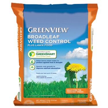 Broadleaf Weed Control Plus Lawn Food With GreenSmart 22-...