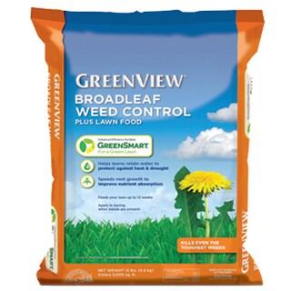 Broadleaf Weed Control Plus Lawn Food With GreenSmart 22-0-4