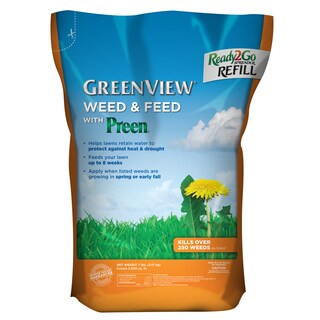 Weed and Feed with Ready2Go Spreader