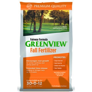 Fairway Formula Fall Fertilizer 30-0-12