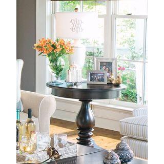 Paula Deen Home Sweet Tea Side Table in Tobacco Finish
