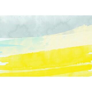 Maxwell Dickson 'Spring Breeze' Modern Canvas Wall Art