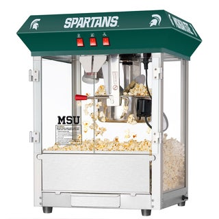 Michigan State University MSU Spartans 8 Ounce Table Popcorn Machine