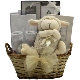Bless This Baby Girl Christening Gift Basket