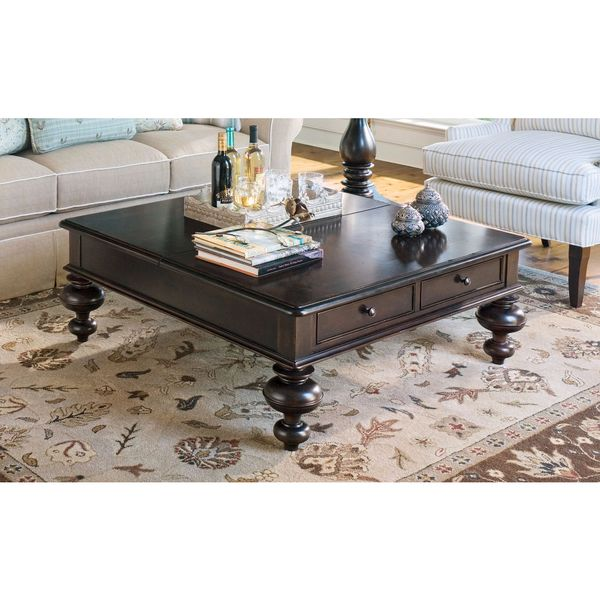 Paula Deen Home Lift Top Tobacco Finish Coffee Table
