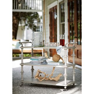 Dogwood Iced Tea Cart in Cobblestone Finish