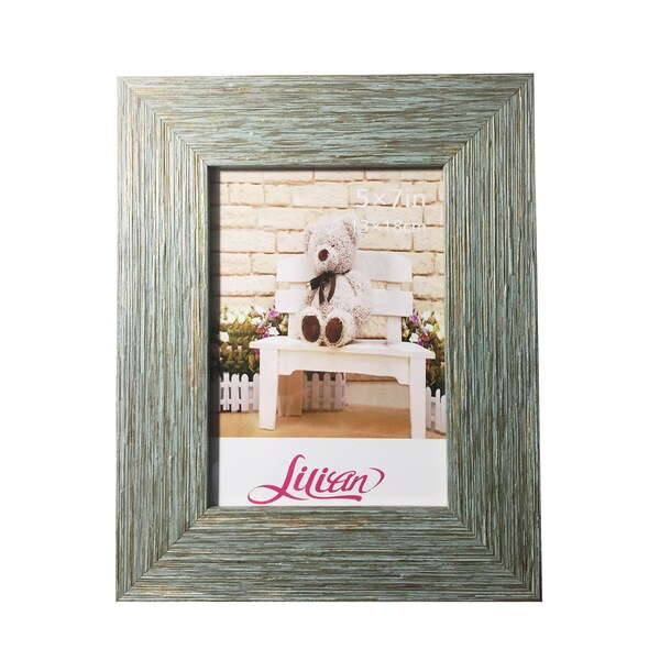 Shop Lilian Pc Modern Blue Desktop Photo Frames Free Shipping On