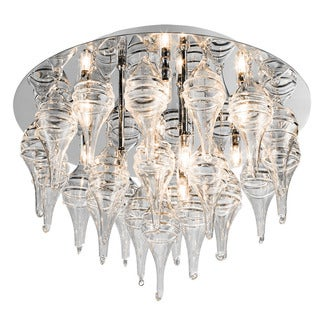 Kichler Lighting Contemporary 12-light Chrome Flush Mount