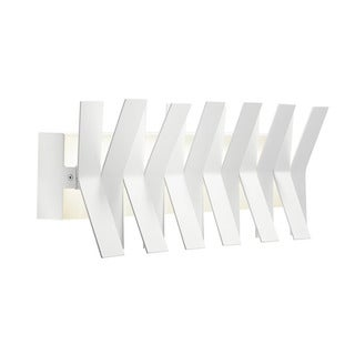 Kichler Lighting Contemporary 1-light Matte White LED Bath/Vanity Light