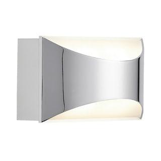 Kichler Lighting Contemporary 1-light Chrome/Matte White LED Wall Sconce